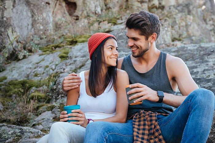 Parship Werbung Mann und Frau